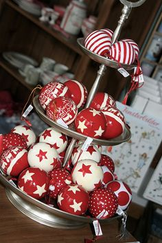 christmas red white