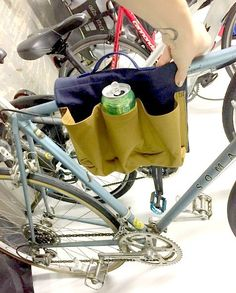 Learn How to Sew a Six-Pack Saddle Bag for a Bicycle