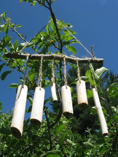 Making Sumac Wind Chimes with Finns & Flowers | Natural Kids Team