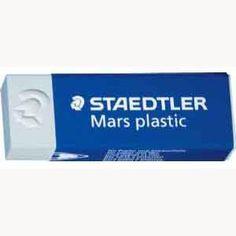 White Plastic Eraser - Staedtler