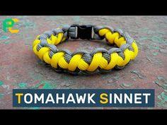 FAST Deploy Paracord Bracelet Tomahawk Sinnet - YouTube