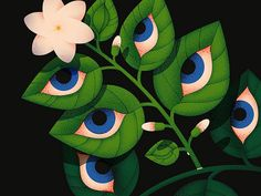 Jasmine 👁 jasmine eyes eye leaf leaves flower close up dissolve illustration texture anano Eye Illustration, Graphic Design Illustration, Graphic Art, Bd Comics, Wow Art, You Draw, Illustrations And Posters, Design Illustrations, Psychedelic Art