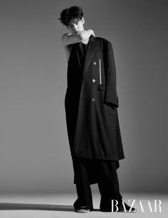 Eunwoo (Astro) - Harper's Bazaar Magazine May Issue Cha Eun Woo, Asian Boys, Asian Men, Cha Eunwoo Astro, Lee Dong Min, Lee Soo, Kdrama Actors, Kpop, Jonghyun