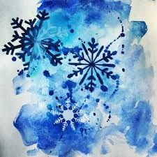 Image result for watercolour snowflake tattoo