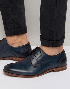 #ASOS - #Ted Baker Ted Baker Iront Derby Shoes - Black - AdoreWe.com