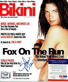 SELMA BLAIR Signed Magazine PSA #I11034