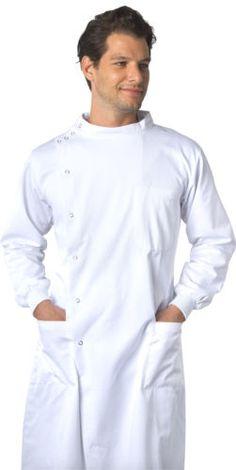 a45835b83f4 Dr. James Howie White Lab Coat Polycotton for Men   Women