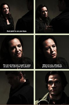 I love how it's like they don't know how to deal with a protective Mom - [GIF] 5x02 Good God, Y'all