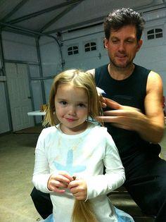 For Pantene Beautiful Lengths--free hair cut at Mark Garrison!
