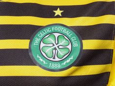 Celtic F.C. 3rd ' Wasp ' Shirt 2011-2012 Champions League , Unsponsored , Long Sleeved , Player Issue
