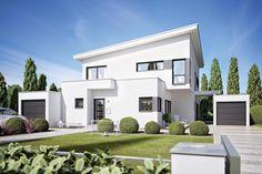 Fertighaus Architektenhaus Corradino, elegantes Einfamilienhaus von Büdenbender