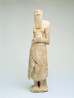 A Sumerian Worshiper.Allegedly from the Diyala river region (NE of Baghdad) See the entire George Ortiz Collection: http://www.georgeortiz.com/NEAREAST/index.html