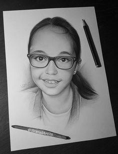 Drawing portrait..