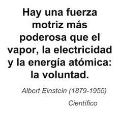 Albert Einstein (1879-1955) Científico.
