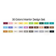 TOUCHNEW 30/40/60/80 Colors Sketch Marker Pen
