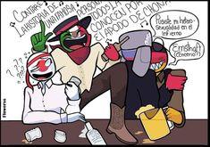 Comics Mexico, Hetalia Anime, Mundo Comic, Country Art, Human Art, South Park, Book Art, Funny Pictures, Germany
