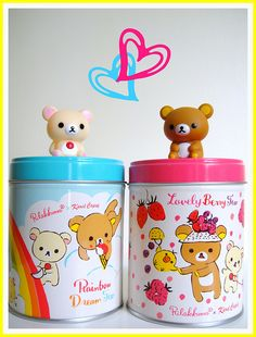 Cute Containers for my Secret Treasures =)
