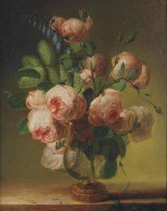 Пьер-Жозеф Редуте Ваза с цветами 1799