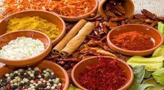 Important spices in Moroccan cuisine