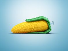 Inflatable vegetables and fruit balloons are both part of some cool campaigns made for the Austrian vegetarian restaurant Hiltl, check them out at Ateriet!