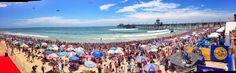 Huntington Beach US Open Surfing 2014