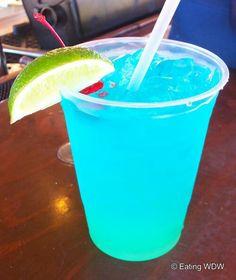 Tropical Depression 2 oz Vodka 2 oz Gin (skipped) 2 oz Rum 1 oz Blue Curacao 1 splash Grenadine (added more) 1 splash Lime Juice oz Sprite or (added more) Non Alcoholic Drinks, Bar Drinks, Cocktail Drinks, Vodka, Blue Curacao, Alcohol Recipes, Summer Drinks, Smoothies, Highball Glass