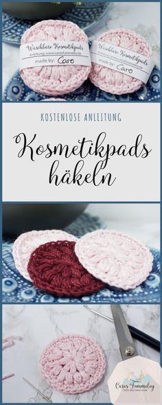 Kosmetikpads häkeln - Kostenlose Anleitung und Banderole zum Drucken Crochet Hair Styles crochet hair styles for kids Homemade Crafts, Diy Crafts To Sell, Sell Diy, Yarn Crafts, Fabric Crafts, Rock Crafts, Diy Kitchen Projects, Diy Projects, Craft Free