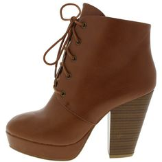 SASA01 WHISKEY LACE UP ANKLE BOOT (53 PEN) ❤ liked on Polyvore featuring shoes, boots, ankle booties, heels, ankle boots, sapatos, lace up wedge bootie, lace up boots, lace up heel booties and lace up bootie