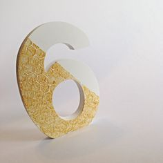 Wooden Table Number. Honeycomb Pattern. Wedding Table Decor. Table Numbers. Wedding Decor. by AudandEl on Etsy
