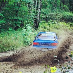 There's nothing like a Subaru going full chat in a forest - it sounds freakin awesome