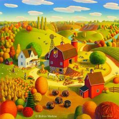 Robin Moline ~ Autumn Harvest