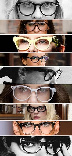 The right Glasses can make a dramatic fashion statement