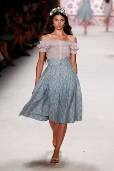 Sommer-Röcke Sommermode 2016 Lena Hoschek Fashion Week Berlin Juli 2015 - 5