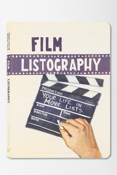 Film Listography Journal #UrbanOutfitters totally want
