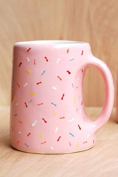 Better mornings start with a doughnut-themed mug. And maybe an actual doughnut too.