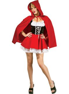 Red Riding Hood Costume, DeluxeFairy Tale Costumes