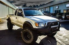 "Relentless Fabrication 96-04 Tacoma ""SUMMIT"" Front Plate Bumper."