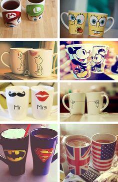Mugs - cups - canecas