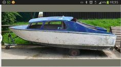 Projects can be found on ebay. This beautiful little boat is just crying out for restoration.