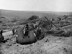 WWI, August 1917, Verdun;  Schneider 220mm