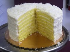 Smith Island coconut cake.  If you're not from Maryland, chances are you've never heard of a Smith Island cake: 8 to 10 thin layers of cake, held together with fluffy frosting. Absolutely Amazing!<3