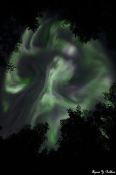 Auroras Taken by Ayumi Bakken on September 2, 2016 @ Fairbanks, Alaska