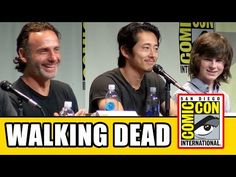 The Walking Dead Comic Con 2015 Panel - Andrew Lincoln, Norman Reedus, Steven Yeun - YouTube