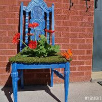 16 Garden Crafts That Will Make Your Neighbors Jealous | AllFreeHolidayCrafts.com
