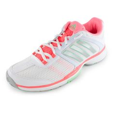 Buy the adidas Women s Barricade Team 4 Tennis Shoes at Tennis Express  today! Cushioned 1fe914b3b85