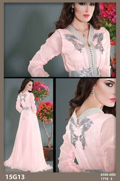 See more Morrocan Dress, Moroccan Caftan, Style Oriental, Oriental Fashion, Abaya Style, Mode Abaya, Arabic Dress, Arab Fashion, Caftan Dress