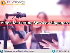 Avail apex video marketing services from PCL Technology in Singapore. We are professional in crafting compelling, high-quality brand stories, commercials & corporate videos. Contact us at: +65 3158 1036 #VideoMarketingServicesSingapore