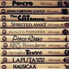 Studio Ghibli. <3 Hayao Miyazaki
