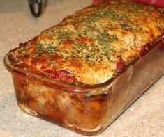 Gluten Free Meatloaf, Meatloaf Recipes, Beef Recipes, Cooking Recipes, Healthy Recipes, Easy Recipes, Hamburger Recipes, Hamburger Dishes, Delicious Recipes