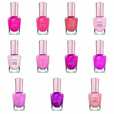 "Press Release INTRODUCING COLOR THERAPY FROM SALLY HANSEN THE ADVANCED NEW NAIL POLISH THAT COMBINES COLOR AND CARE! Finally, gorgeous ""Color That Cares While You Wear."" The first Sally Hansen nail po"